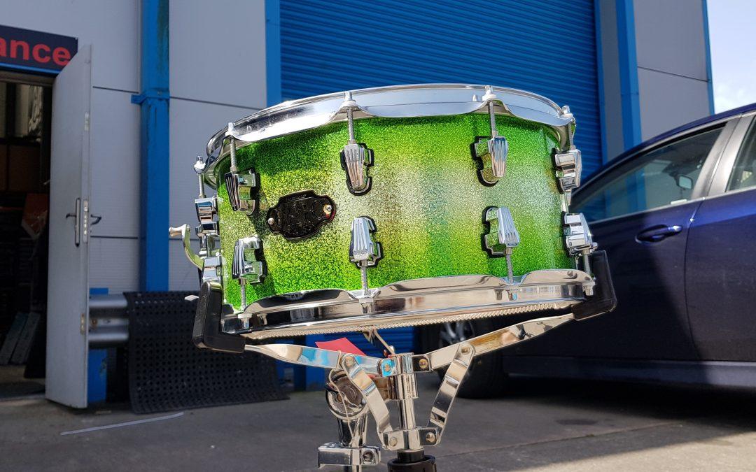 Green Silver Sparkle